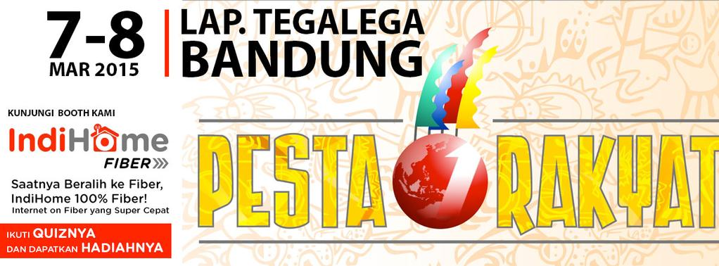 Pesta Rakyat Bandung 2015