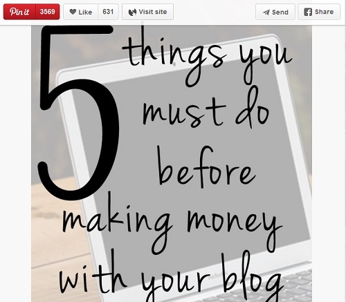 Making Money With a Blog
