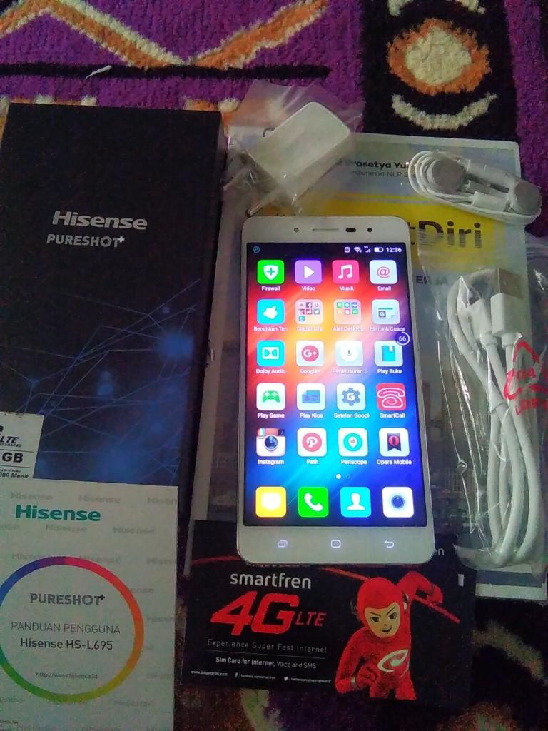 Hisense Pureshot+ Lengkapi Multitasking Blogger
