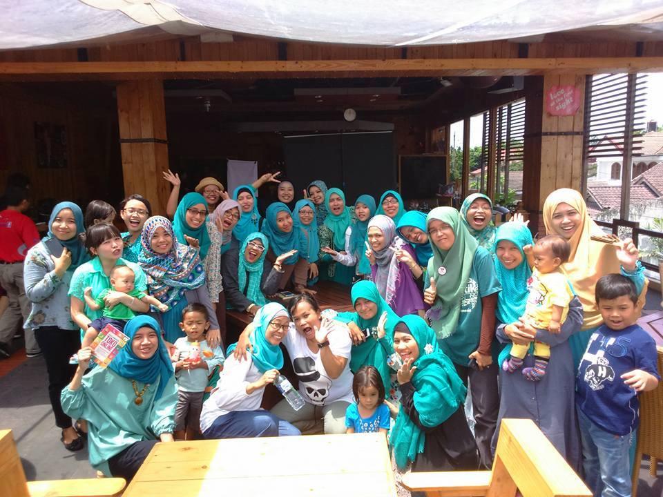 Kumpulan Emak Blogger: Belajar DA di Arisan Ilmu Yogyakarta
