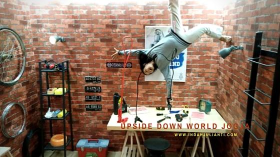 Dunia Terbalik di Upside Down World Jogja